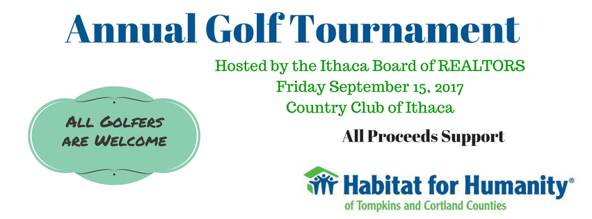 Golf to Support Habitat for Humanity on September 15th!