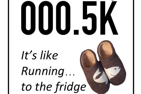 Grab your slippers, time to register for the Crown City 000.5K!